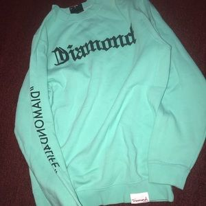 Diamond Supply Co Tiffany Blue crewneck sweatshirt